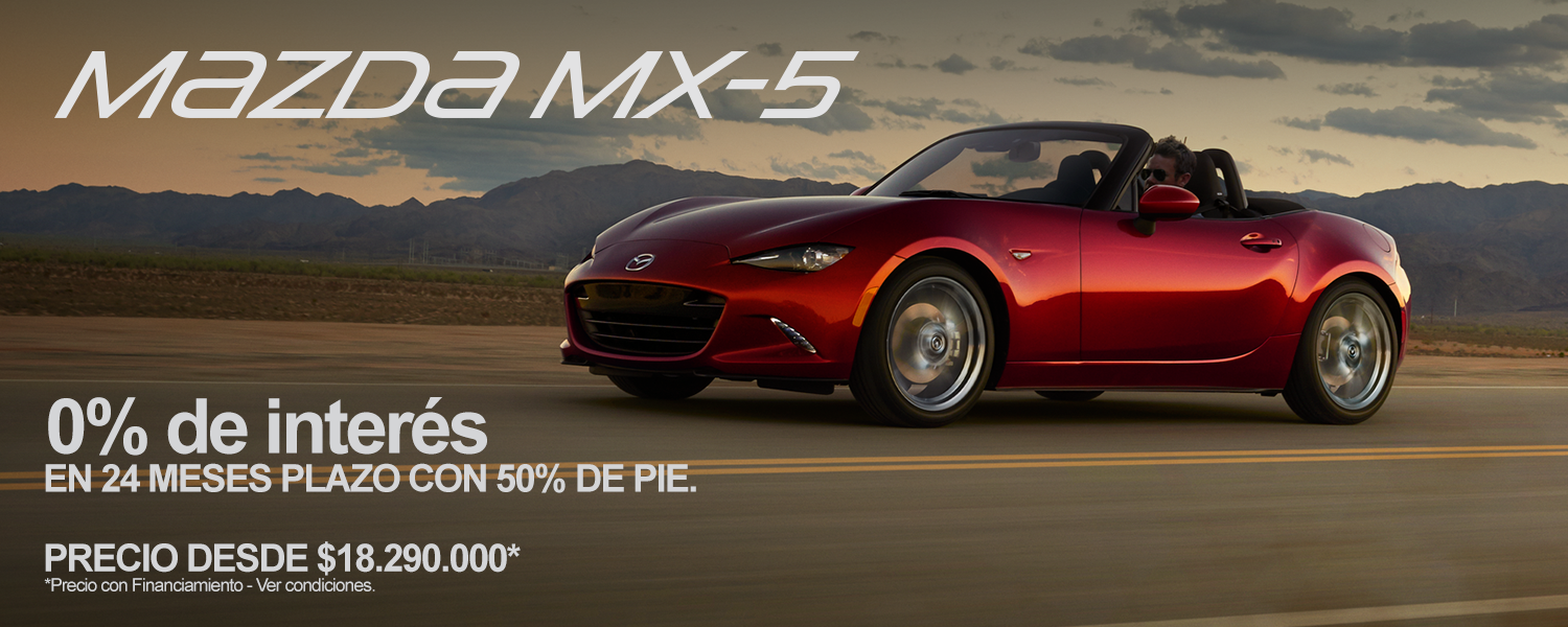 Mazda MX-5 2.0L 6AT (C.N) T.Lona C.Blanco