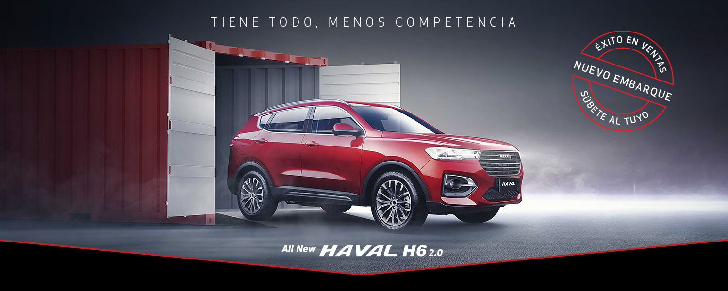 All New Haval H6 2.0 4x2 Deluxe AT