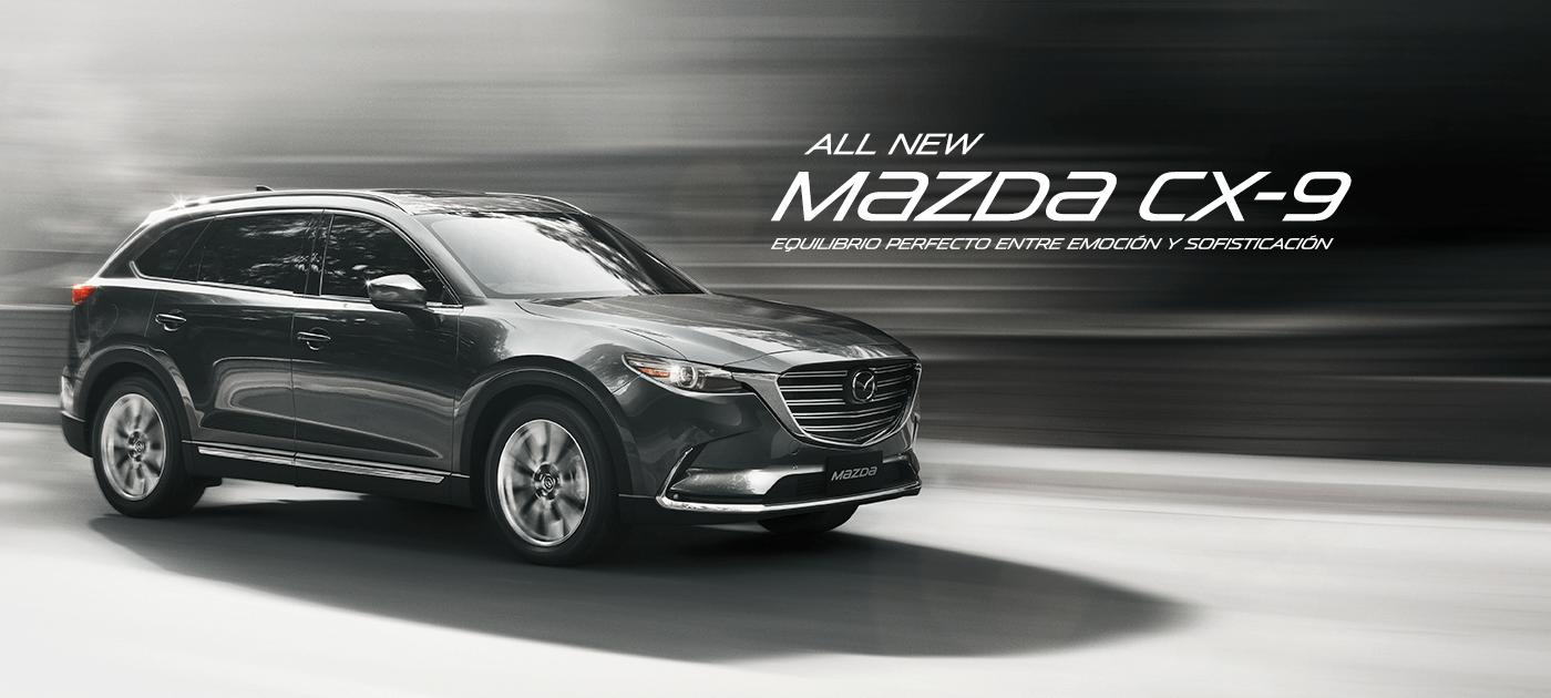 All New Mazda CX-9 GTX AWD 2.5L Turbo PCA 6AT