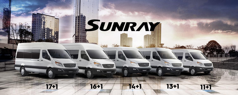 Sunray Pasajeros 13+1 Green Jet Limited